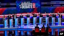 نخستین مناظره نامزدهای حزب دموکرات