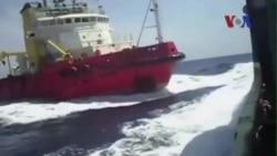 Việt-Trung tranh cãi về vụ đâm tàu mới nhất trong tuần này