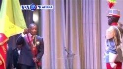 VOA60 AFIRKA: CONGO-BRAZAVILLE An Rantsar Da Dadadden Shugaban Jamhuriyar Kwango Brazaville, Denis Sassou Nguesso,