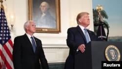 پرزیدنت ترامپ و مایک پنس - آرشیو