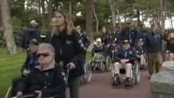 Ветерани се вратија на плажата Омаха за да се потсетат на Денот Д