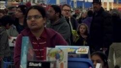 ร้านค้าในอเมริกาเตรียมตัวรับวัน Black Friday