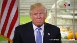 Trump'tan Birlik Mesajı
