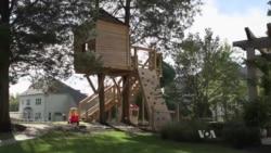 ชาวอเมริกันนิยมสร้างบ้านต้นไม้ในฝัน