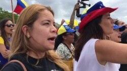 Venezolanos en Miami piden justicia y elecciones ya