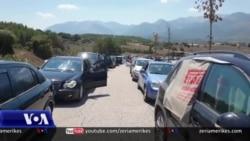 Radhë të gjata në kufirin Shqipëri-Greqi