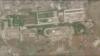 북한 열병식 훈련장 대규모 공사…과거 군사장비 은폐지점에 포장도로·건축물