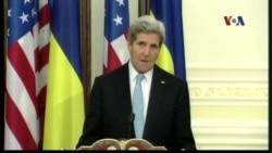 Ngoại trưởng Mỹ tới Ukraine để hội đàm với Tổng thống Poroshenko