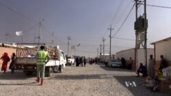 Strained Refugee Camps Fear and Welcome IS War