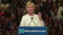 민주당 첫 여성 대선후보 클린턴, 유권자 신뢰 회복 과제