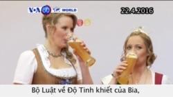 Đức kỷ niệm 500 năm bộ luật về sản xuất bia (VOA60)
