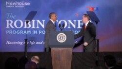 Barack Obama crítica a periodistas