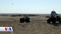 Mars'a Yolculuk Bu Çölden Geçiyor