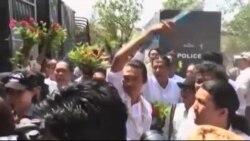 میانمار بیش از ۱۰۰ زندانی سیاسی را آزاد کرد