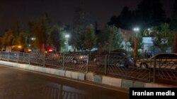حضور نیروهای امدادی و انتظامی در محدوده پارک ملت پس از شنیده شدن صدای انفجار – ۱۹ تیر ۱۴۰۰