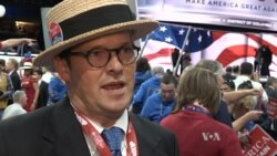 VOA Interviews Republican Delegates After Trump Speech