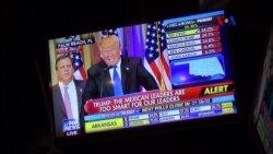"""Trump: El gran ganador del """"súper martes"""""""