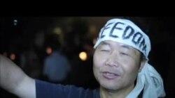 洛杉矶华人纪念六四:寂寞奖牌和愤怒呐喊