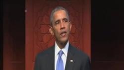 奧巴馬作為國家元首首次造訪美國清真寺