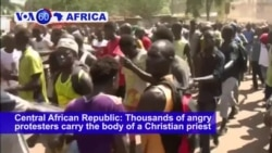 VOA60 Africa - Nigeria: Explosions in and around a mosque in Mubi killed at least 27 people