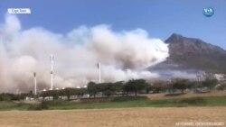 Alevler Cape Town'u Tehdit Ediyor
