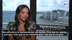 """La actriz colombiana Natalia Reyes protagoniza la nueva entrega de """"Terminator"""""""