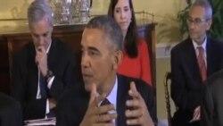 美國國會大選後奧巴馬與國會領導人首次會面
