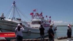 Tàu đánh cá của Đài Loan bắt đầu ra Biển Đông