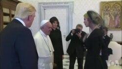 Donald Trump rencontre le pape François au Vatican (vidéo)