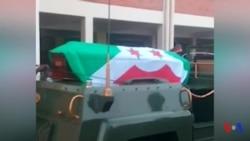 Bagaza inhumé à Bujumbura