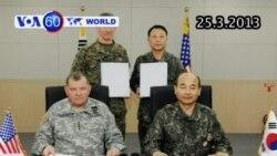Ký thỏa thuận Mỹ bảo vệ Nam Triều Tiên (VOA60)