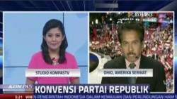 Laporan Langsung VOA untuk Kompas TV: Konvensi Partai Republik Hari Terakhir