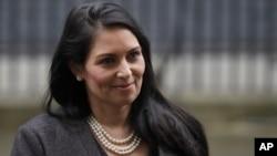 Menteri Urusan Dalam Negeri Inggris, Priti Patel