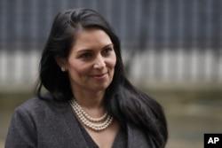 Menteri Dalam Negeri Inggris, Priti Patel.
