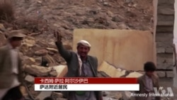 """国际特赦指控沙特联军在也门犯有""""战争罪"""""""