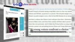 Manchetes Americanas 27 Outubro: Hillary Clinton à frente