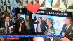 ورود یک ایرانی به آمریکا بعد از یک هفته سرگردانی