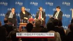 美专家:中国经济不可能再以7%增长
