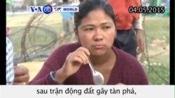 Thêm bốn người sống sót tám ngày sau trận động đất Nepal (VOA60)