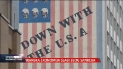Iranska ekonomija slabi zbog američkih sankcija