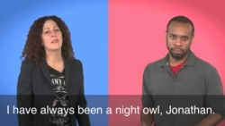 English in a Minute: Night Owl