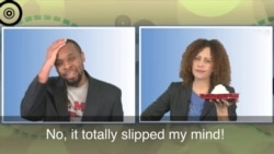 English in a Minute: Slip One's Mind