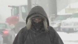 美國東北部地區發佈暴風雪警