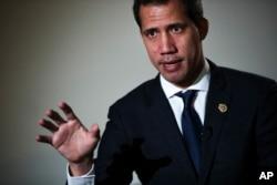 Venesuela muxolifati lideri, AQSh quvvatlovchi Xuan Guaydo