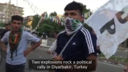 Blasts Rip HDP Party Rally in Turkey