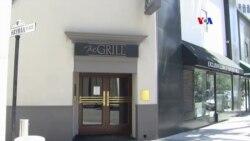 The GRILL -ը Հոլիվուդյան կինոգործիչների սիրելի ռեստորանն է արդեն 30 տարի