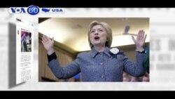 Bà Hillary Clinton bắt đầu chạy nước rút (VOA60)