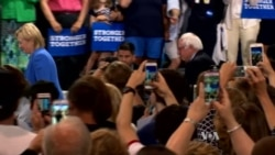Sanders Delivers Long-awaited Endorsement of Clinton