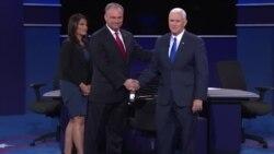 凯恩与彭斯激辩 主要谈川普