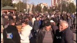 Shkodër: 25 vjetori i demonstratës për rrëzimin e bustit të Stalinit